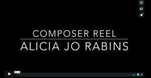 """""""composer reel, Alicia Jo Rabins"""" - video title"""