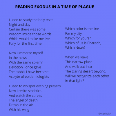 Reading Exodus in a Time of Plague 032920 (1)